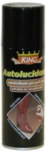 Спрей-блеск черный Wilbra King Autolucidante Self Shine, 200 ml фото 63324