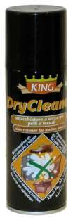 Сухой пятновыводитель для кожи и текстиля Wilbra King Dry Cleaner, 200 мл