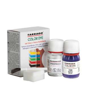 Пурпурная краска для обуви Tarrago Self Shine Color Dye Doble, 25 + 25 мл фото 95022