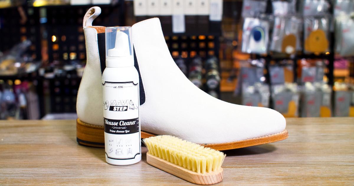 Универсальный набор для чистки обуви MAVI STEP Universal Duet